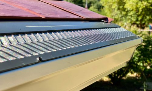 Install gutter guards to increase the lifespan of your gutters